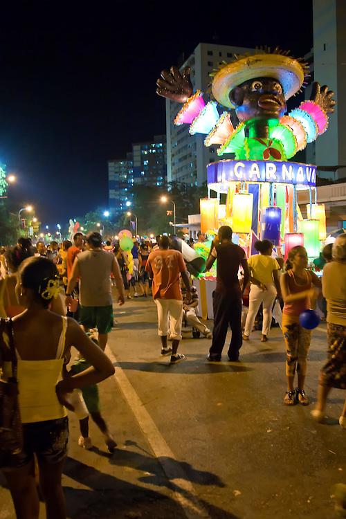 Carnaval in Santiago de Cuba, Cuba.