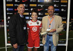 Man of the Match presentation  - Photo mandatory by-line: Dougie Allward/JMP - Mobile: 07966 386802 - 20/09/2014 - SPORT - FOOTBALL - Bristol - SGS Wise Campus - BAWFC v Arsenal Ladies - FA Womens Super League