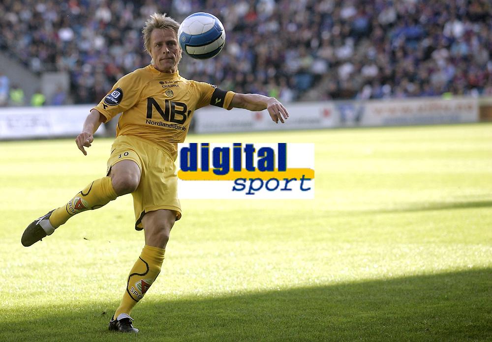 Fotball<br /> Tippeligaen Eliteserien<br /> 25.05.08<br /> Ullevaal Stadion<br /> V&aring;lerenga VIF - Bod&oslash;/Glimt<br /> Jan-Derek S&oslash;rensen<br /> Foto - Kasper Wikestad