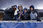 Diego & Friends<br /> New England Patriots @ Chicago Bears<br /> December 12, 2010<br /> Soldier Field<br /> Chicago, IL <br /> <br /> Photograph © Ross Dettman