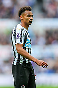 Jacob Murphy (#7) of Newcastle United during the Premier League match between Newcastle United and Arsenal at St. James's Park, Newcastle, England on 15 September 2018.