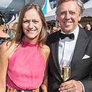 NLD/Amsterdam/20170617 - Amsterdamdiner 2017, Elsbeth Janmaat en partner Ed Nijpels