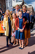 27-4-2017 TILBURG - Koning Willem-Alexander, Koningin Maxima, de Prinses van Oranje Amalia , Prinses Alexia en Prinses Ariane zijn aanwezig bij de viering van Koningsdag in de gemeente Tilburg, in het hart van Brabant.<br /> Prins Constantijn en Prinses Laurentien, Prins Maurits en Prinses Marilène, Prins Bernhard en Prinses Annette, Prins Pieter-Christiaan en Prinses Anita én Prins Floris en Prinses Aimée zijn ook aanwezig bij Koningsdag in Tilburg. COPYRIGHT ROBIN UTRECHT<br /> <br /> 27-4-2017 TILBURG - King Willem-Alexander, Queen Maxima, Princess of Orange Amalia, Princess Alexia and Princess Ariane are present at the celebration of King's Day in the municipality of Tilburg, in the heart of Brabant.<br /> Prince Constantine and Princess Laurentia, Prince Maurice and Princess Marilene, Prince Bernhard and Princess Annette, Prince Pieter-Christiaan and Princess Anita and Prince Floris and Princess Aimée are also present at Koningsdag in Tilburg. COPYRIGHT ROBIN UTRECHT