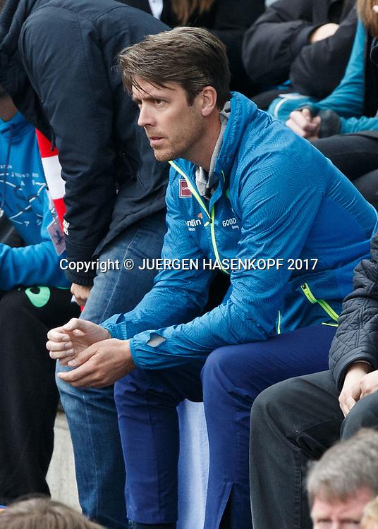 GAEL MONFILS Team<br /> <br /> Tennis - BMW Open 2017 -  ATP  -  MTTC Iphitos - Munich -  - Germany  - 4 May 2017.