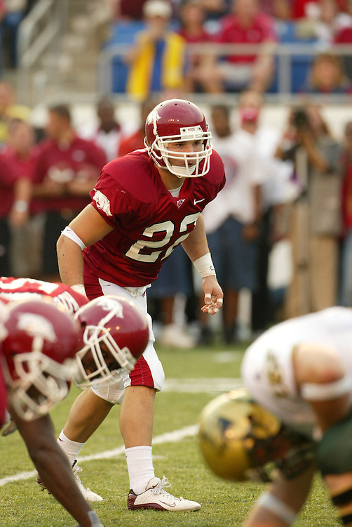 Arkansas Razorback football 2002 season