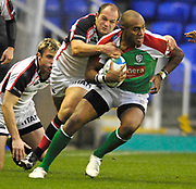 Reading, GREAT BRITAIN, Sailosi TAGICKIBAU, during the third round Heineken Cup game, London Irish vs Ulster Rugby, at the Madejski Stadium, Reading ENGLAND, Sa, t 09.12.2006. [Photo Peter Spurrier/Intersport Images]..
