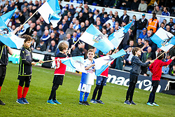 Flagbearers - Rogan/JMP - 23/02/2019 - FOOTBALL - Memorial Stadium - Bristol, England - Bristol Rovers v Sunderland - EFL Sky Bet League One.