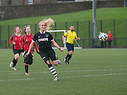 Fiona Mearns scores United's third goal   - Dundee United Womens' team first ever game against Dundee University Ladies<br /> <br />  - &copy; David Young - www.davidyoungphoto.co.uk - email: davidyoungphoto@gmail.com