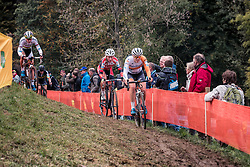 BRAND Lucinda (NED) during the Women's race, UCI Cyclo-cross World Cup at Valkenbrug, The Netherlands, 23 October 2016. Photo by Pim Nijland / PelotonPhotos.com | All photos usage must carry mandatory copyright credit (Peloton Photos | Pim Nijland)