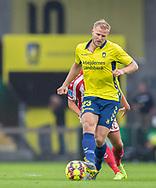 Paulus Arajuuri (Brøndby IF) under kampen i 3F Superligaen mellem Brøndby IF og AaB den 18. august 2019 på Brøndby Stadion (Foto: Claus Birch).