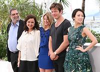 Enrique Gonzalez Macho, Ilda Santiago, Ludivine Sagnier, Thomas Vinterberg, Zhang Ziyi, Jury Un Certain Regard at the Cannes Film Festival 16th May 2013