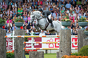 Sergio Alvarez Moya - Carlo 273<br /> FEI European Championships Aachen 2015<br /> © DigiShots