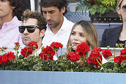 May 12, 2019 - Madrid, Spain - David Bisbal, Rosanna Zanetti  attend the men's final during day 9 of the Mutua Madrid Open at La Caja Magica on May 12, 2019 in Madrid, Spain. (Credit Image: © Oscar Gonzalez/NurPhoto via ZUMA Press)