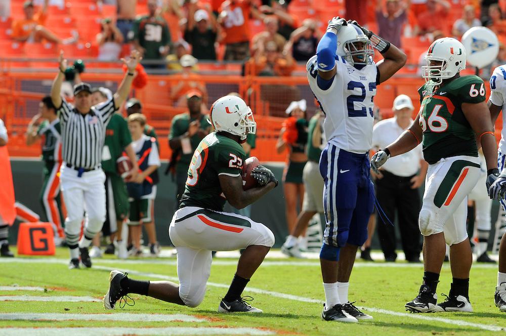 2009 Miami Hurricanes Football vs Duke