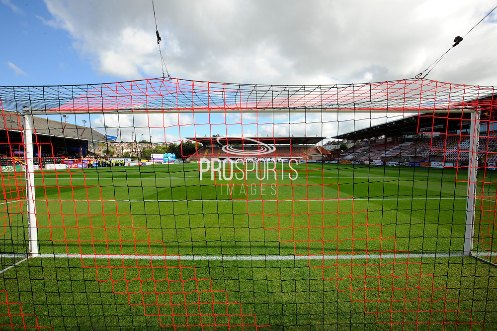St James Park Stadium before the EFL Sky Bet League 2 match between Exeter City and Plymouth Argyle at St James' Park, Exeter, England on 17 September 2016. Photo by Graham Hunt.