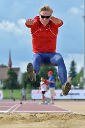 06/08/2017; Dragsund Nilsen, Vegard, T13, NOR at 2017 World Para Athletics Junior Championships, Nottwil, Switzerland