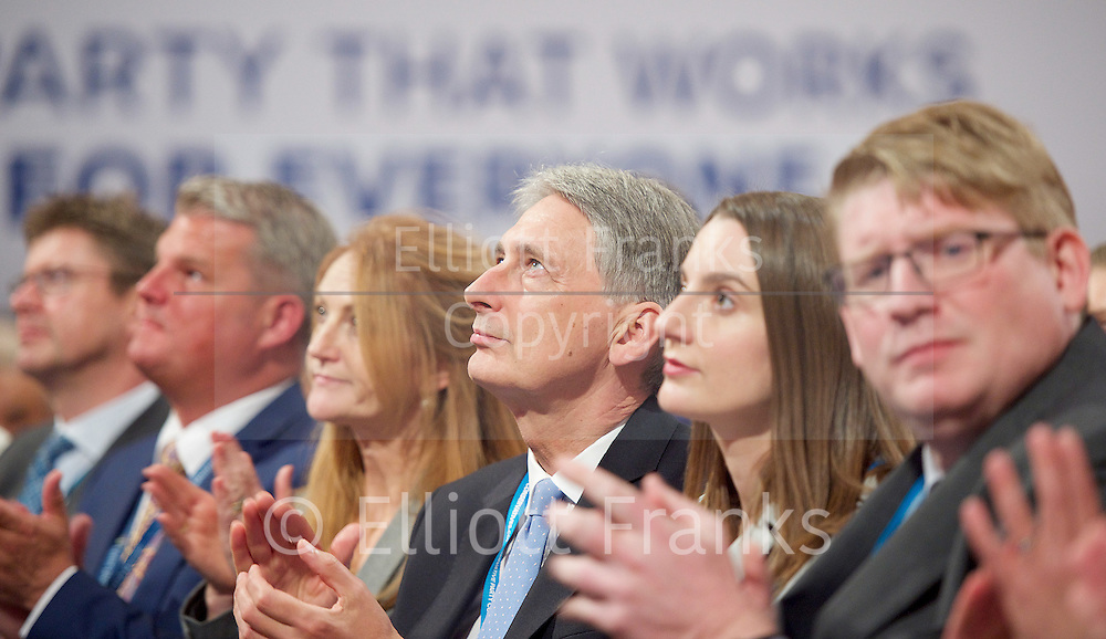 Conservative Party Conference <br /> Day 1 <br /> 2nd October 2016 <br /> At the ICC, Birmingham, Great Britain <br /> <br /> <br /> <br /> Photograph by Elliott Franks <br /> Image licensed to Elliott Franks Photography Services