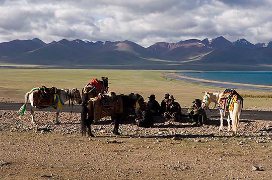 Northern Tibet. Nomads.