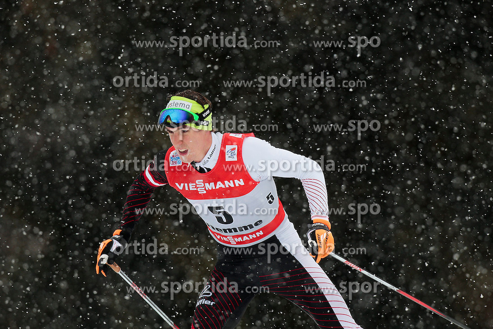05.01.2014, Langlaufstadion, Lago di Tesero, ITA, FIS Tour de Ski, Langlauf Herren, Individual Start 9 Km, im Bild Duerr Johannes (AUT) // during the Men 9 km Pursuit Cross Country of the FIS Tour de Ski 2014 at the Cross Country Stadium, Lago di Tesero, Italy on 2014/01/05. EXPA Pictures © 2014, PhotoCredit: EXPA/ Federico Modica