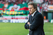 Portugal, FUNCHAL : Benfica's Portuguese coach Jorge Jesus  during match Maritimo vs S.L. Benfica at Barreiros Stadium in Funchal on January  18, 2015. PHOTO/ GREGORIO CUNHA