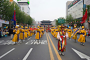 The annual Lotus Lantern Festival is held to celebrate Buddha's Birthday. The big lantern parade from Dongdaemun Stadium to Jogyesa temple, passing Dongdaemun (Eastern Gate).