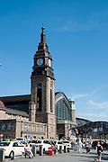 Hauptbahnhof, Hamburg, Deutschland.|.main railway station, Hamburg, Germany