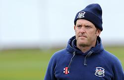 Gloucestershire's Coach Ian Harvey - Photo mandatory by-line: Harry Trump/JMP - Mobile: 07966 386802 - 30/03/15 - SPORT - CRICKET - Pre Season Fixture - T20 - Somerset v Gloucestershire - The County Ground, Somerset, England.
