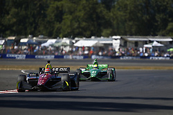 September 2, 2018 - Portland, Oregon, United Stated - CARLOS MUNOZ (6) of Colombia battles for position during the Portland International Raceway at Portland International Raceway in Portland, Oregon. (Credit Image: © Justin R. Noe Asp Inc/ASP via ZUMA Wire)