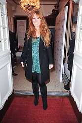 CHARLOTTE TILBURY at a screening of the short film 'Away We Stay' directed by Edoardo Ponti held at The Electric Cinema, Portobello Road, London W1 on 15th November 2010.