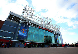 A general view of Old Trafford, home of Manchester United - Mandatory by-line: Robbie Stephenson/JMP - 13/03/2018 - FOOTBALL - Old Trafford - Manchester, England - Manchester United v Sevilla - UEFA Champions League Round of 16 2nd Leg