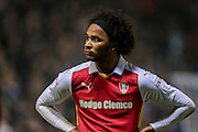 Isaiah Brown (on loan from Chelsea) (Rotherham United) during the EFL Sky Bet Championship match between Rotherham United and Leeds United at the New York Stadium, Rotherham, England on 26 November 2016. Photo by Mark P Doherty.