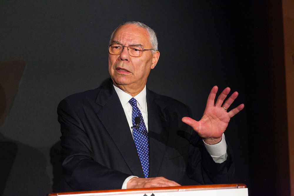 5-26-2016 Mitsui reception with General Colin Powell, at  the New Your City Library in Manhattan