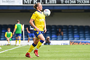 Leeds United Defender Luke Ayling (2) during the Pre-Season Friendly match between Southend United and Leeds United at Roots Hall, Southend, England on 22 July 2018. Picture by Stephen Wright.