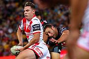 Matthew Dufty. Auckland Warriors v St George Dragons. NRL Rugby League.Magic Round 2019 Suncorp Stadium, Brisbane, New Zealand. May 11, 2019. © Copyright photo: Patrick Hamilton / www.photosport.nz