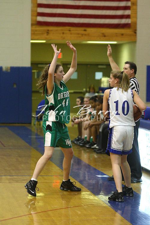 MCHS JV Girl's Basketball.vs Greene.12/7/2007..