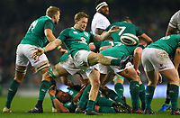 Rugby Union - 2017 Guinness Series (Autumn Internationals) - Ireland vs. Fiji<br /> <br /> Kieran Marmion (Ireland) in action, at the Aviva Stadium.<br /> <br /> COLORSPORT/KEN SUTTON