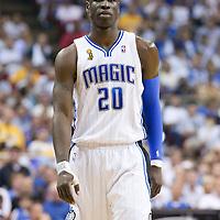 NBA - FINALS NBA 2008/2009 - LOS ANGELES LAKERS V ORLANDO MAGIC - GAME 5 -  ORLANDO (USA) - 14/06/2009 - .MICKAEL PIETRUS (ORLANDO MAGIC)
