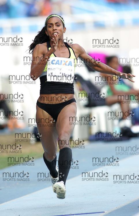 (Rio de Janeiro --- May 23, 2010) Brianna Glenn (  USA) competes in the long jump at the 26th annual Grande Prêmio Internacional do Brasil Caixa de Atletismo (Brazil World Athletics Challenge International Grand Prix) at the João Havelange Olympic Stadium in Rio de Janeiro, Brazil.