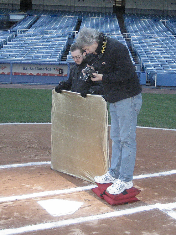 Behind the Scenes for the New Yankee Stadium marketing video.