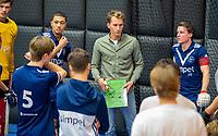 ROTTERDAM - Joep vd Loo , coach Pinoke, heren Pinoke-Venlo  ,hoofdklasse competitie  zaalhockey.   COPYRIGHT  KOEN SUYK