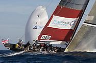 FRANCE, Nice, 20th November 2009, Louis Vuitton Trophy, Day 13, Semi Final Day 2, TEAMORIGIN vs Azzurra, Race 2,