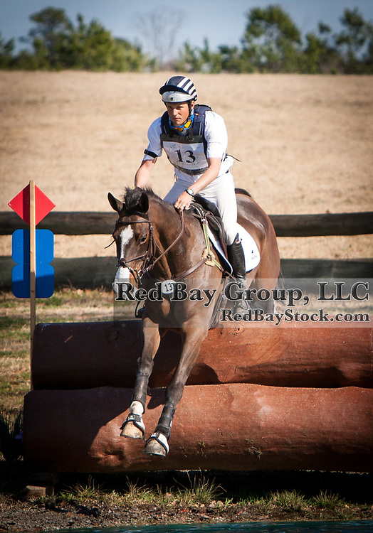 Boyd Martin and Trading Aces at the 2014 Pine Top Farm Advanced Horse Trials in Thomson, Georgia.
