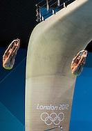 PRYGOROV Oleksiy  KVASHA Illya UKRAINE.3 m. synchro springboard.Diving finals.London 2012 Olympics - Olimpiadi Londra 2012.day 06 August 1.Photo G.Scala/Deepbluemedia.eu/Insidefoto