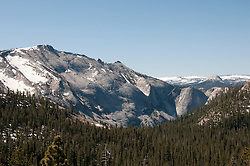 Granite scenic, rock slabs, mountain, high country, Yosemite National Park, California, USA.  Photo copyright Lee Foster.  Photo # california120852