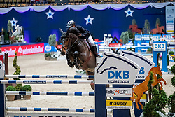 KÖHLBRANDT Torben (GER), Miss Bubbles  <br /> München - Munich Indoors 2018<br /> Grosser Preis der Deutschen Kreditbank AG<br /> Finale DKB-Riders Tour<br /> 25. November 2018<br /> © www.sportfotos-lafrentz.de/Stefan Lafrentz