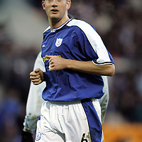 Ian Maxwell, St Johnstone<br /><br />Picture by Graeme Hart.<br />Copyright Perthshire Picture Agency<br />Tel: 01738 623350  Mobile: 07990 594431