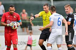 Referee Vincic Slavko during football match between NS Mura and NK Domzale in 3rd Round of Prva liga Telekom Slovenije 2018/19, on Avgust 05, 2018 in Mestni stadion Fazanerija, Murska Sobota, Slovenia. Photo by Mario Horvat / Sportida