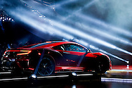 Acura NSX unveiling at the North American International Auto Show in Detroit. Monday, Jan. 12, 2015. (Rick Osentoski)