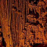 Fantastic natural formations deep within Lehman Caves, Great Basin National Park, Snake Range, Nevada.