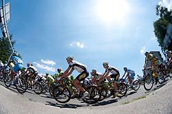 Start 2nd Stage (177,4 km) at 19th Tour de Slovenie 2012, on June 15, 2012, in Kocevje, Slovenia. (Photo by Urban Urbanc / Sportida.com)